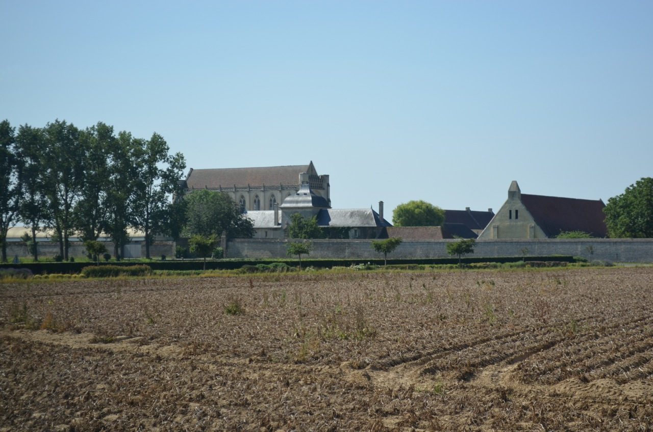 The Abbaye Ardenne, in the Normandy countryside south of Juno Beach, 2012.