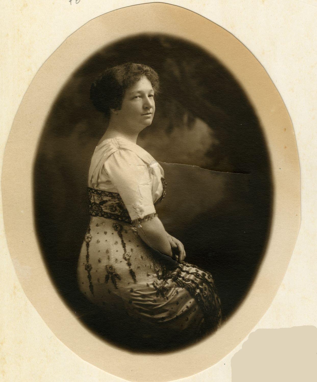 Marie Gérin-Lajoie, circa 1915.