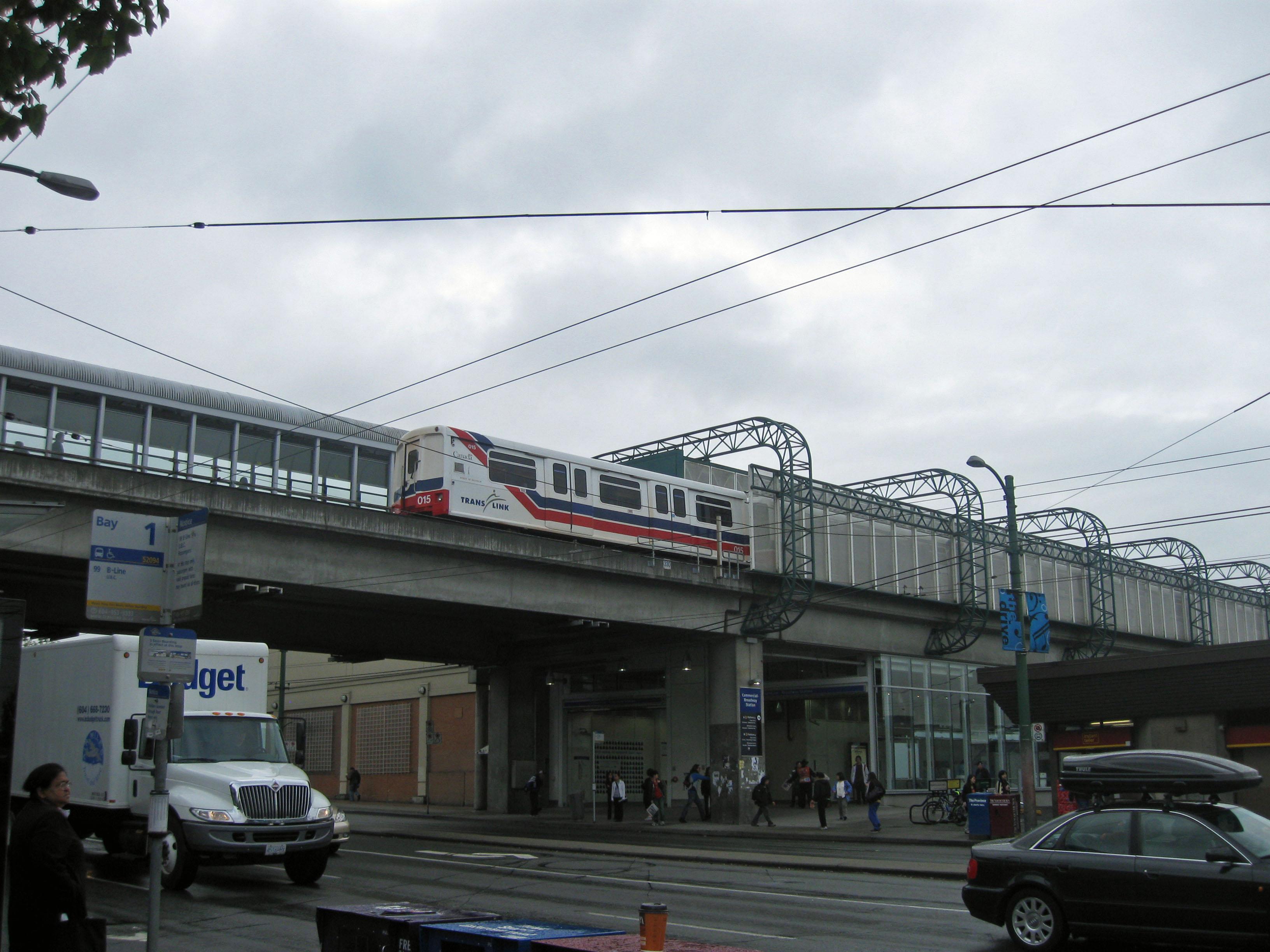 La station Broadway sur la ligne Expo, en 2010