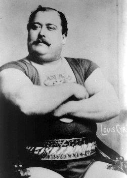 Louis Cyr, weightlifter