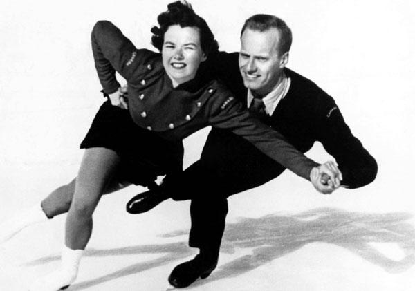Frances Dafoe et Norris Bowden