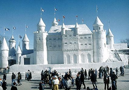 Carnaval de Québec, palais de glace du