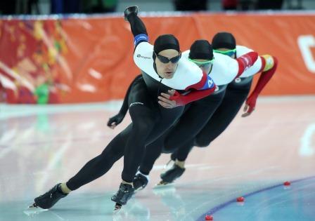Denny Morrison, Team Pursuit, Sochi 2014