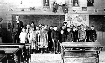 Prairie Classroom, 1915
