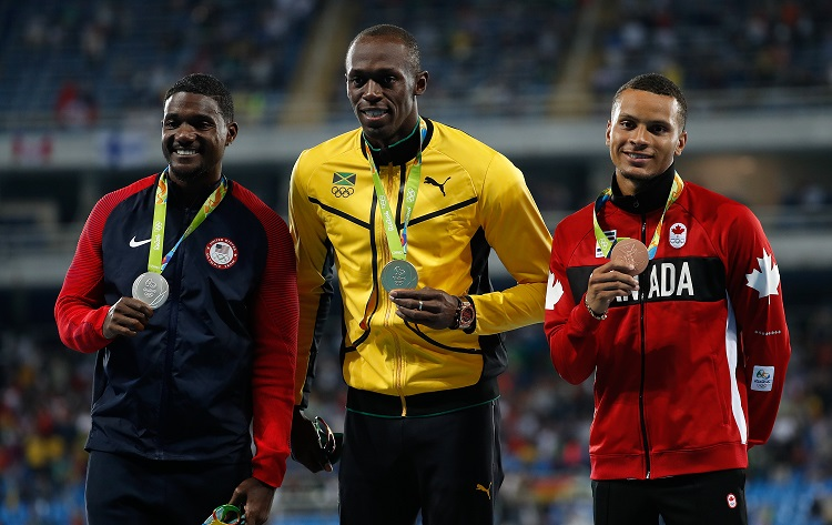 Andre De Grasse, 2016 Olympic Games, 100m