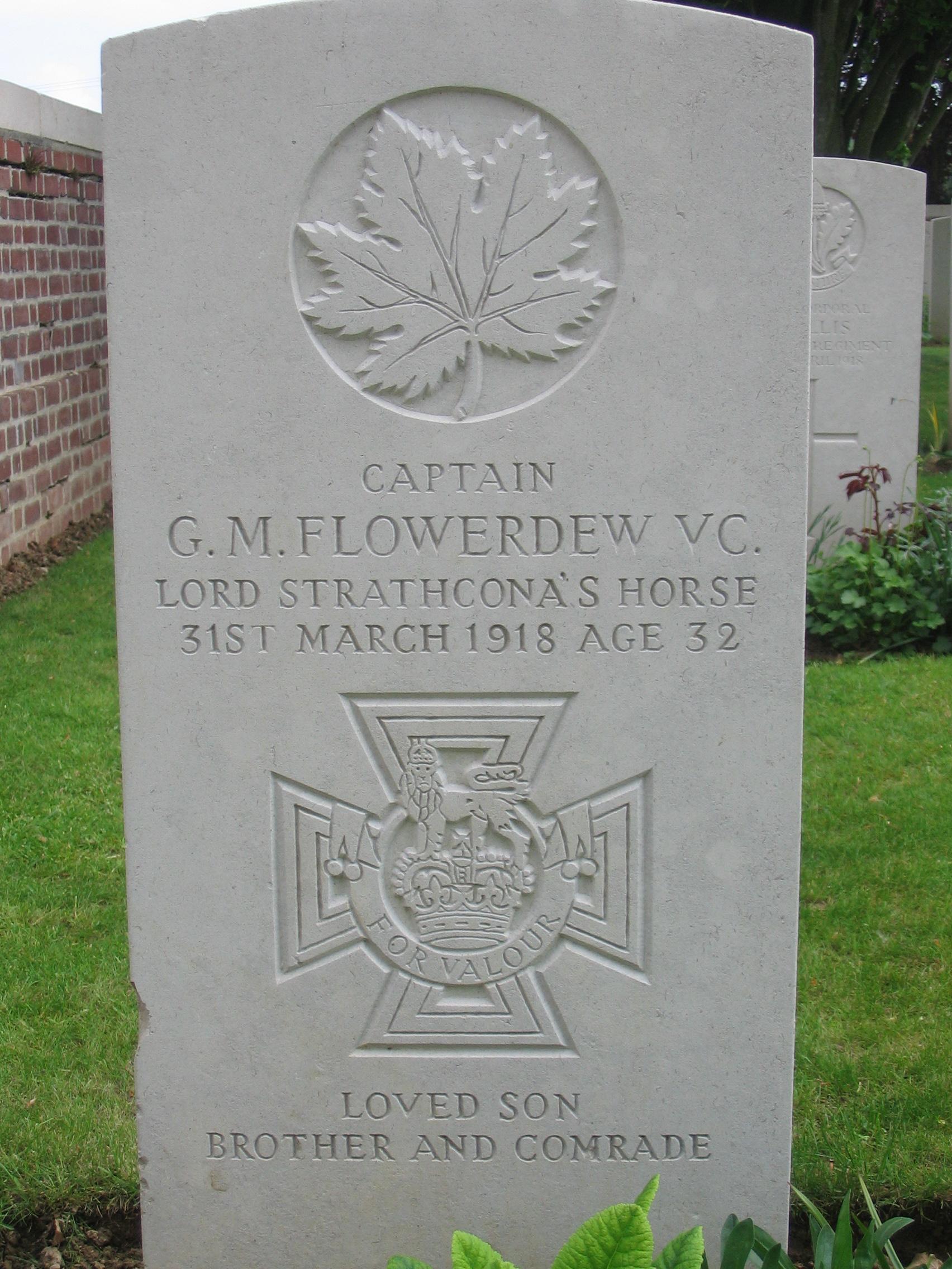 Gordon Flowerdew, VC