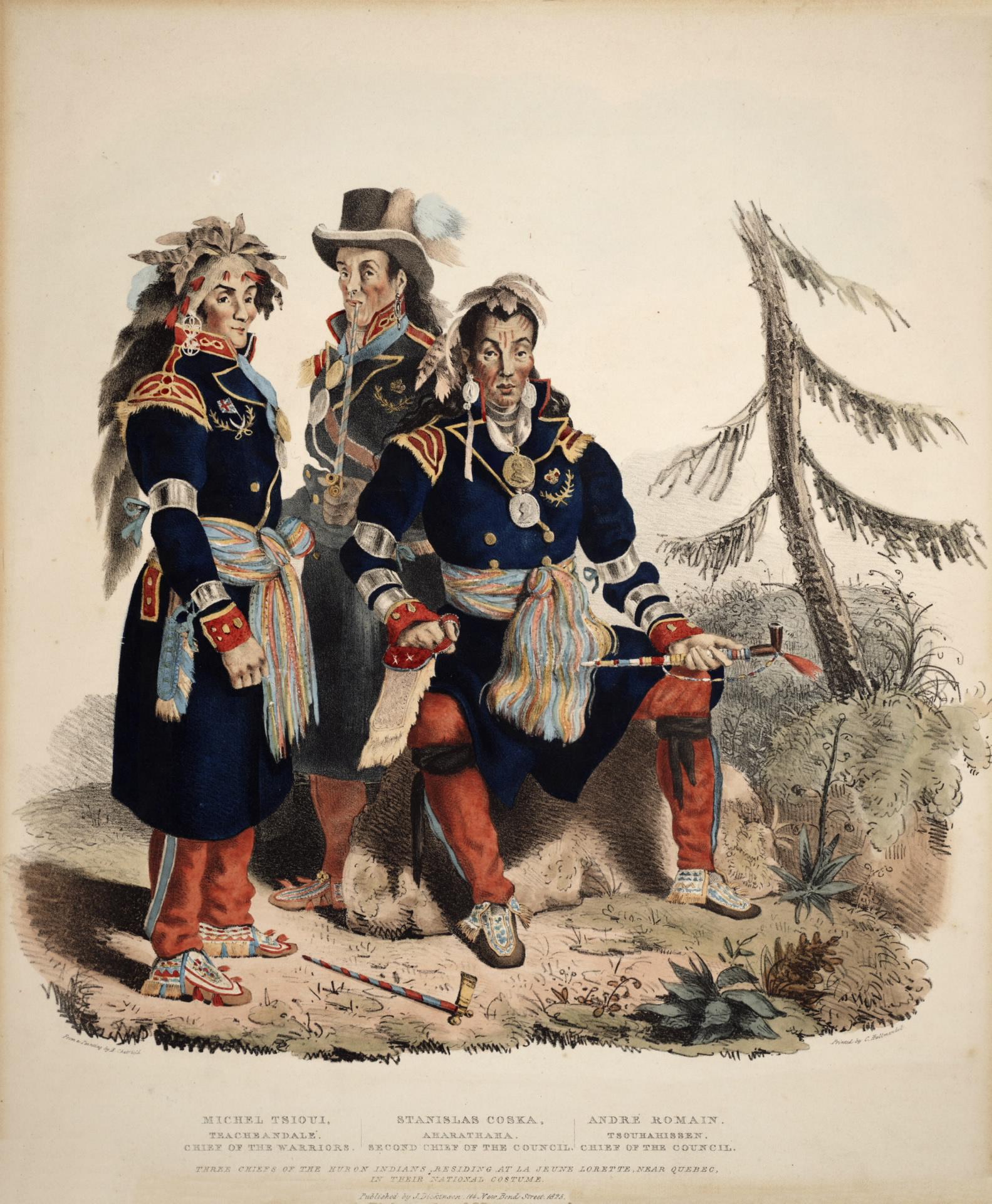 Huron-Wendat Chiefs