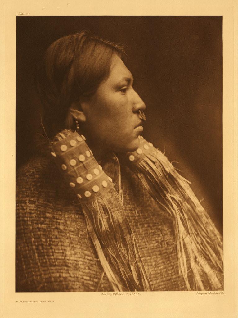 Hesquiaht Woman (circa 1916)