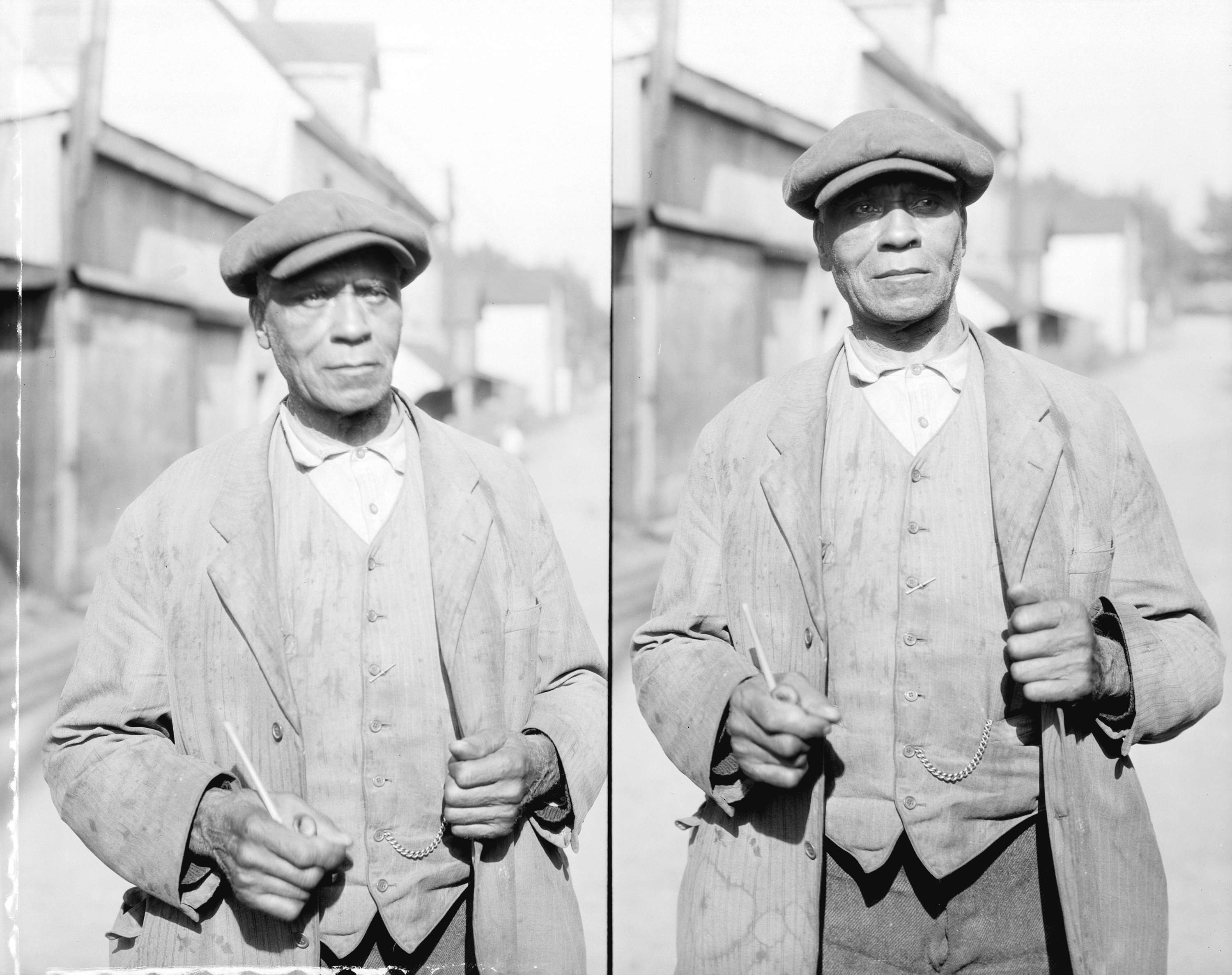 William Spotts in Hogan's Alley on May 28th, 1935.