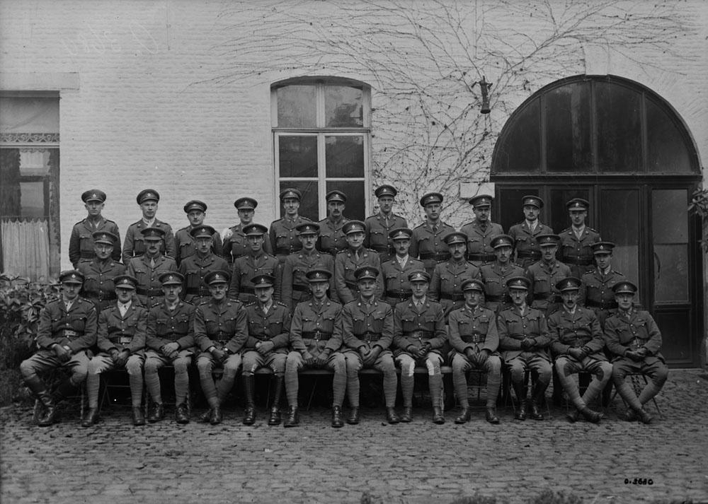 Officiers du PPCLI