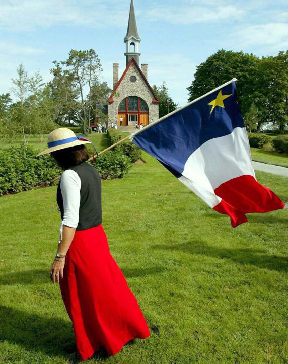 Chanteusse acadienne Jeanne (Doucet) Currie d'Annapolis Royal, Nouvelle-Écosse