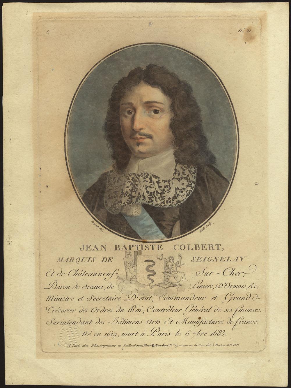 Jean-Baptiste Colbert,  1787