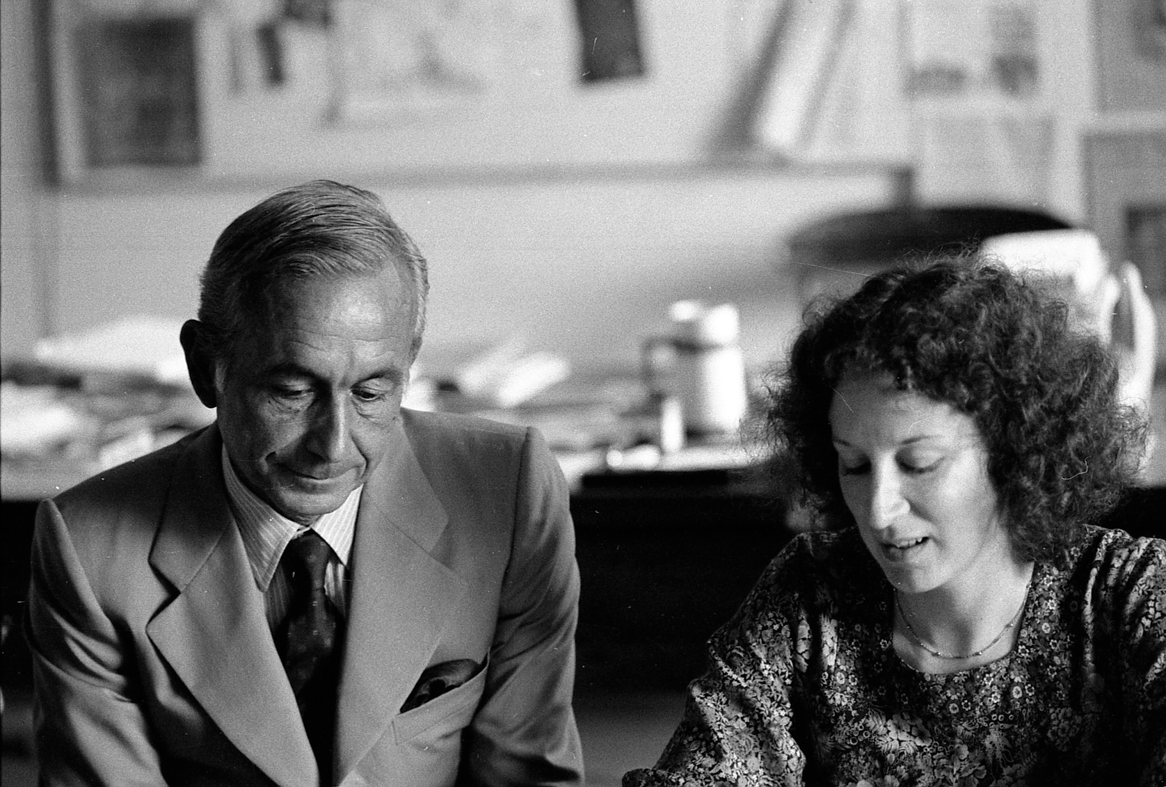Margaret Atwood and Mario Monti