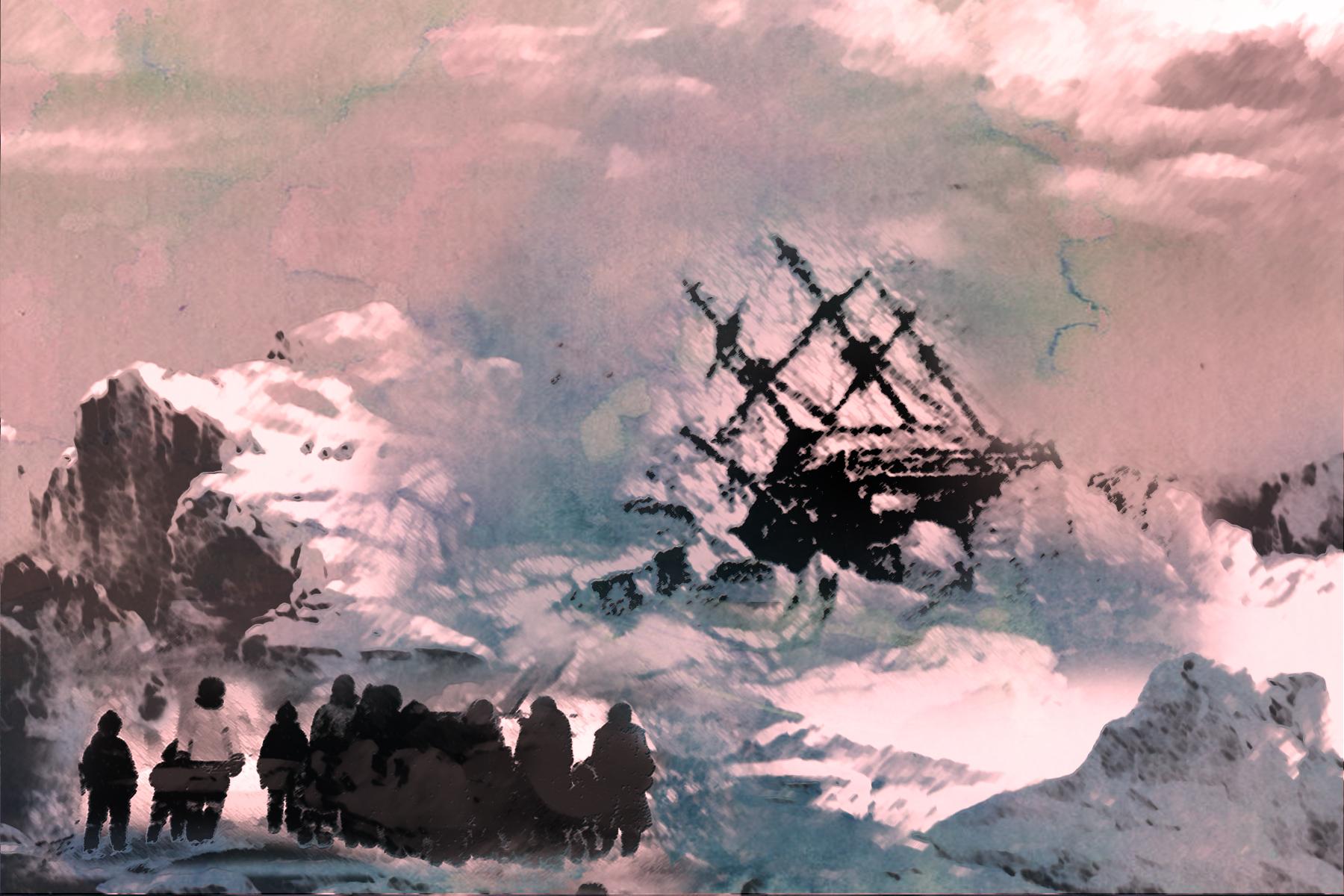 Netsilingmiut meet John Ross