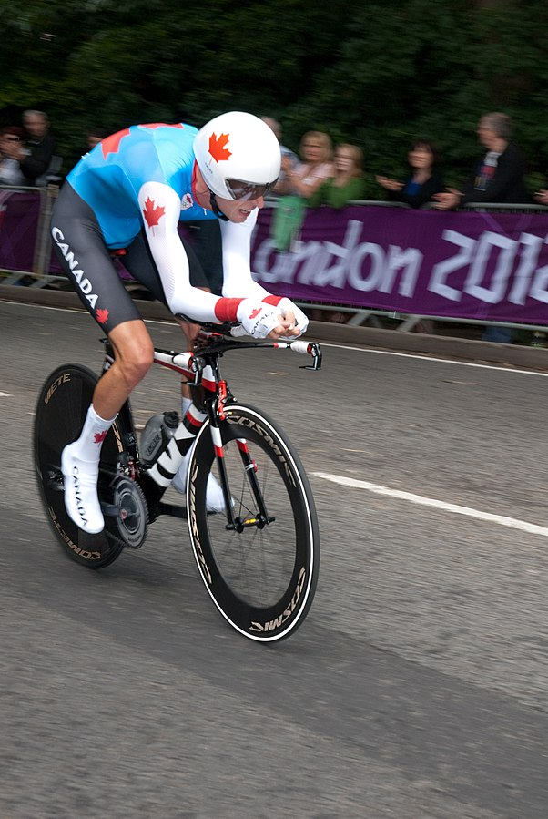 Ryder Hesjedal at 2012 Olympic Games