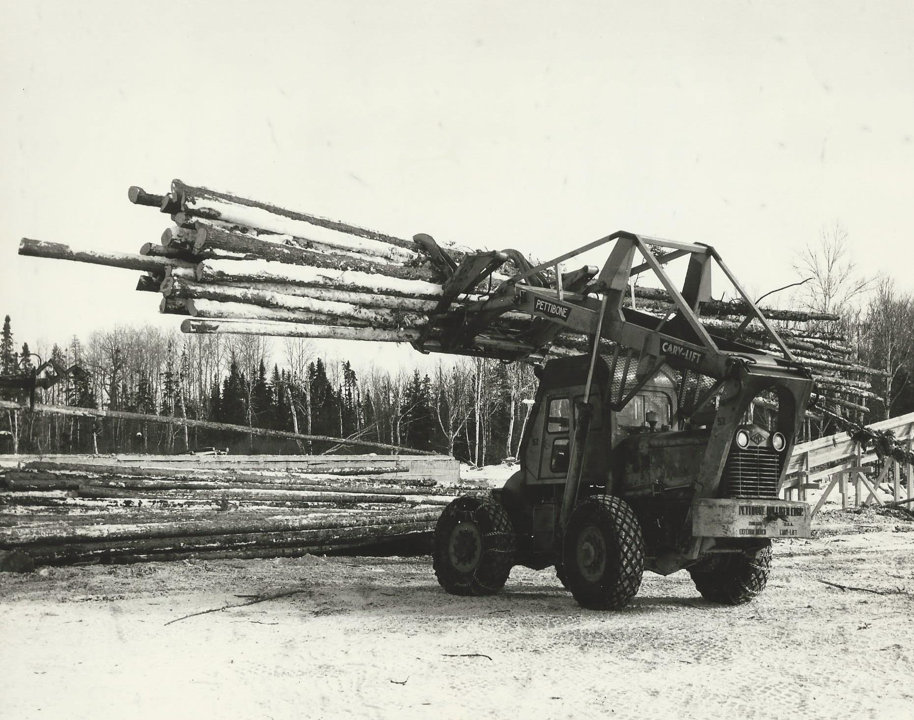 Logging operations in Dubreuilville