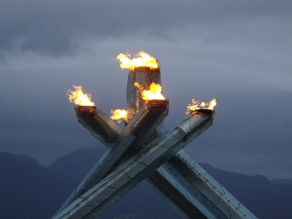 Olympic Cauldron Vancouver 2010