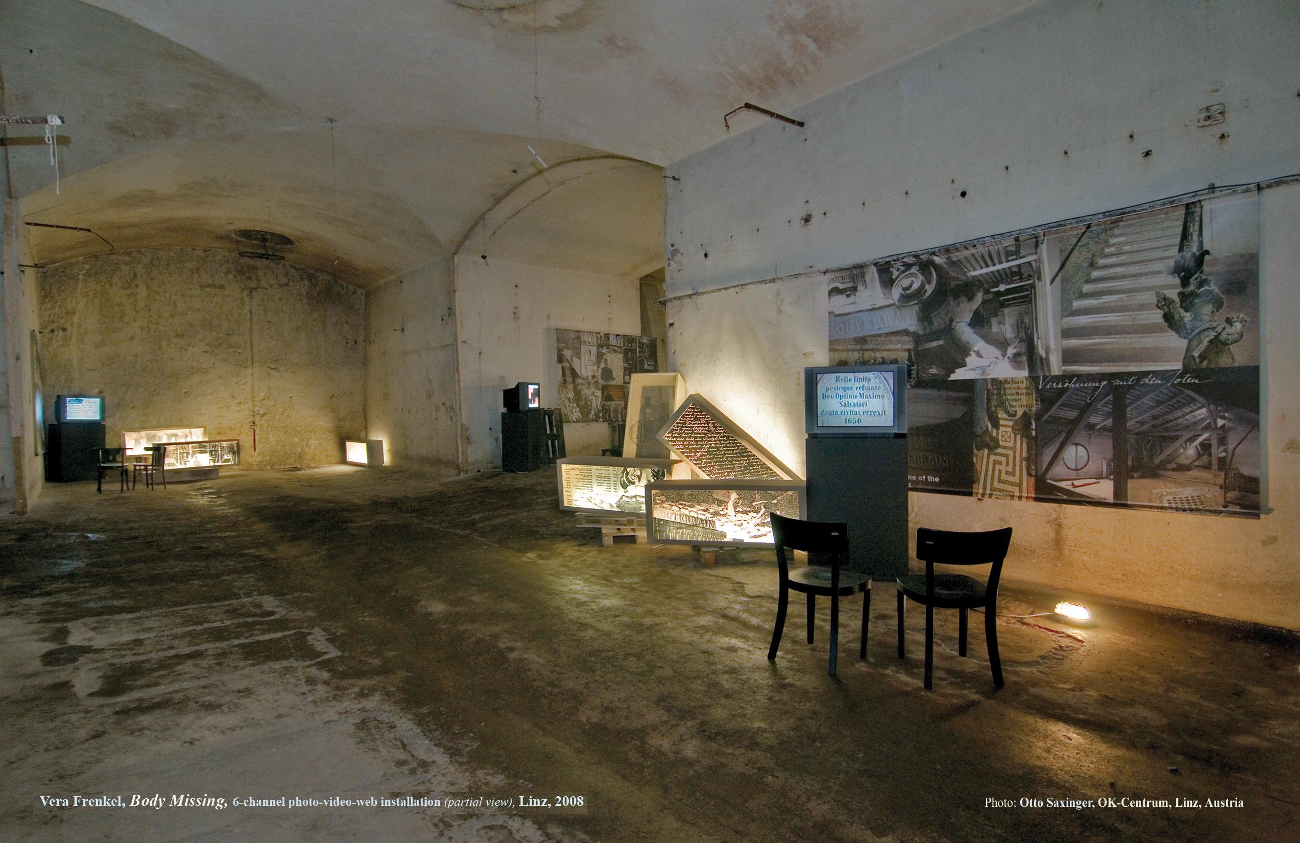 Vera Frenkel's Body Missing installation