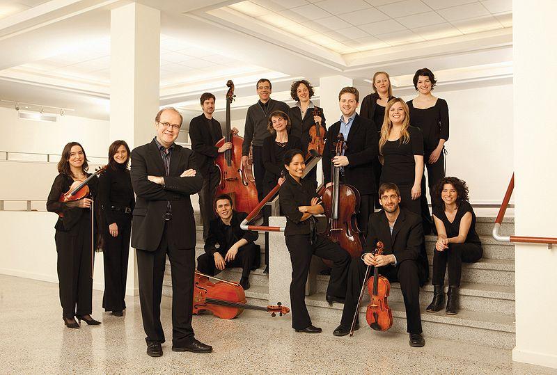 Conductor Bernard Labadie and Les Violons du Roy