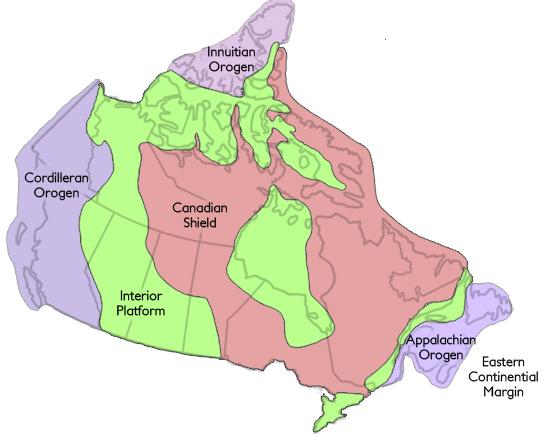 Geological Regions
