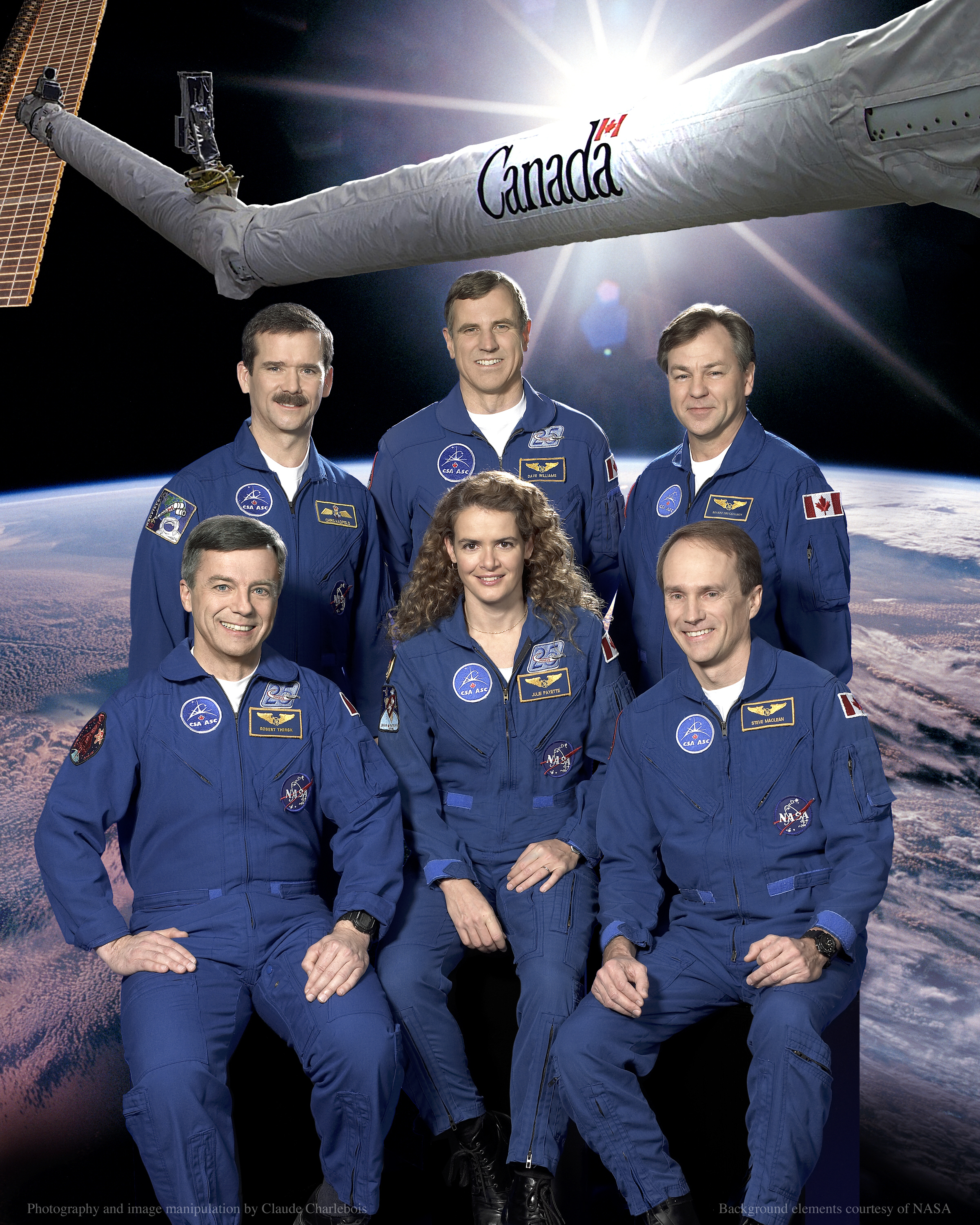Canadian astronaut team, 2002