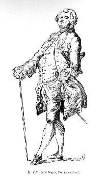 François Bigot, financial commissary