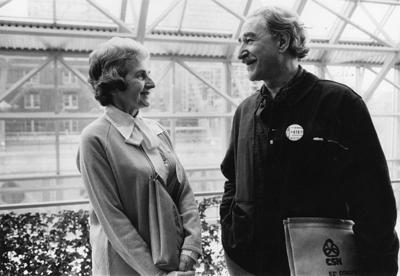 Madeleine Parent et Michel Chartrand