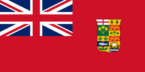 Canadian Red Ensign (1871-1921)