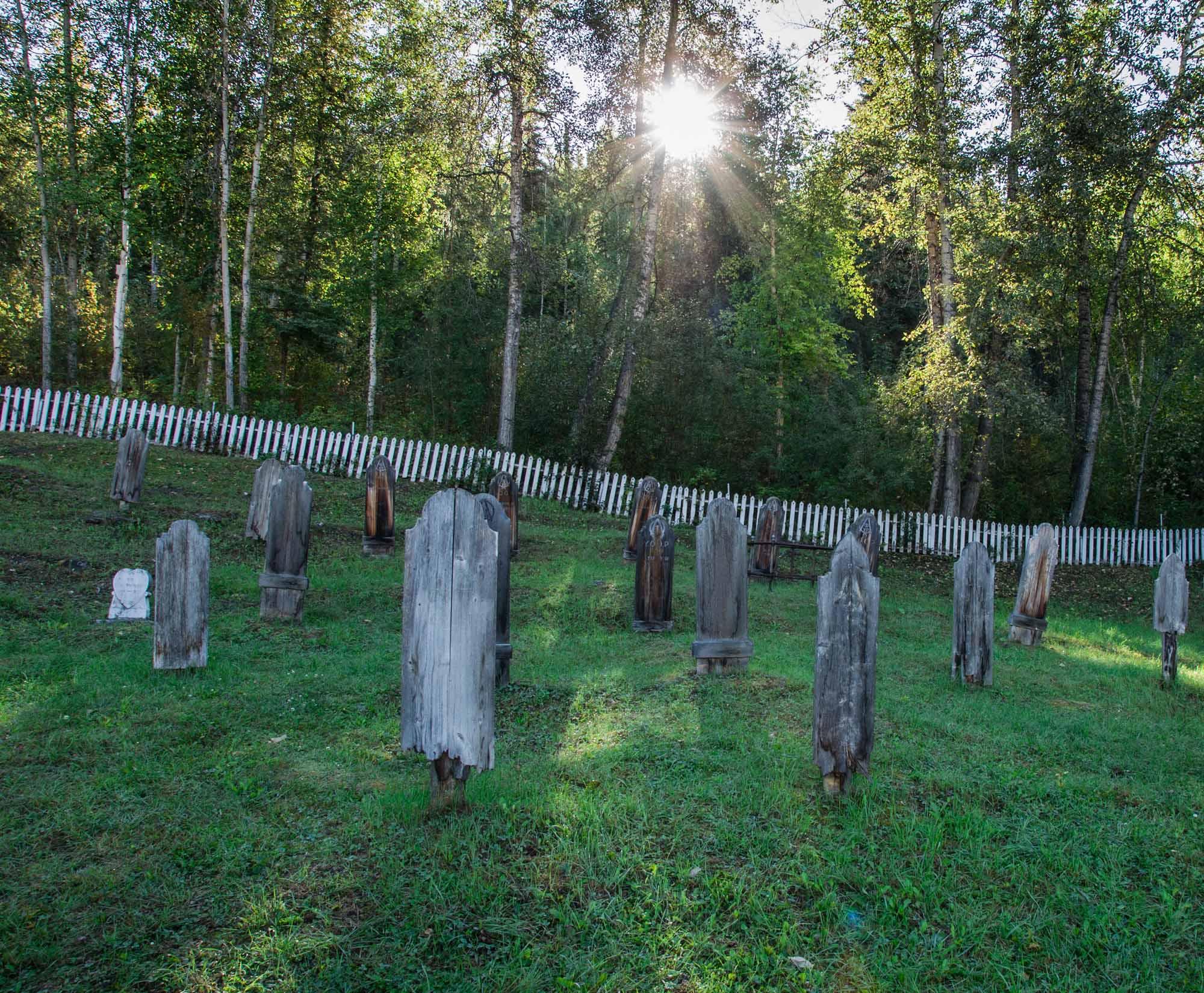 Dawson City cemetery
