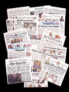 Black, journaux d'information appartenant à