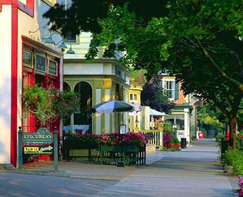 Paysage de rue  à Niagara-on-the-Lake