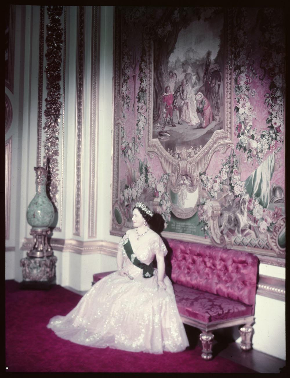 Queen Elizabeth in Canada, 1952.