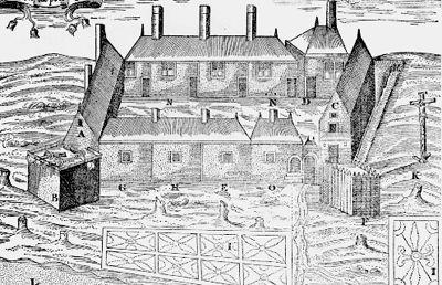 Port-Royal (Champlain's Drawing)