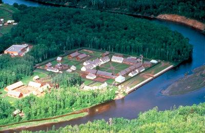 Fort William, Aerial