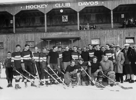 Members of the Oxford University and Czech National Team, 1931