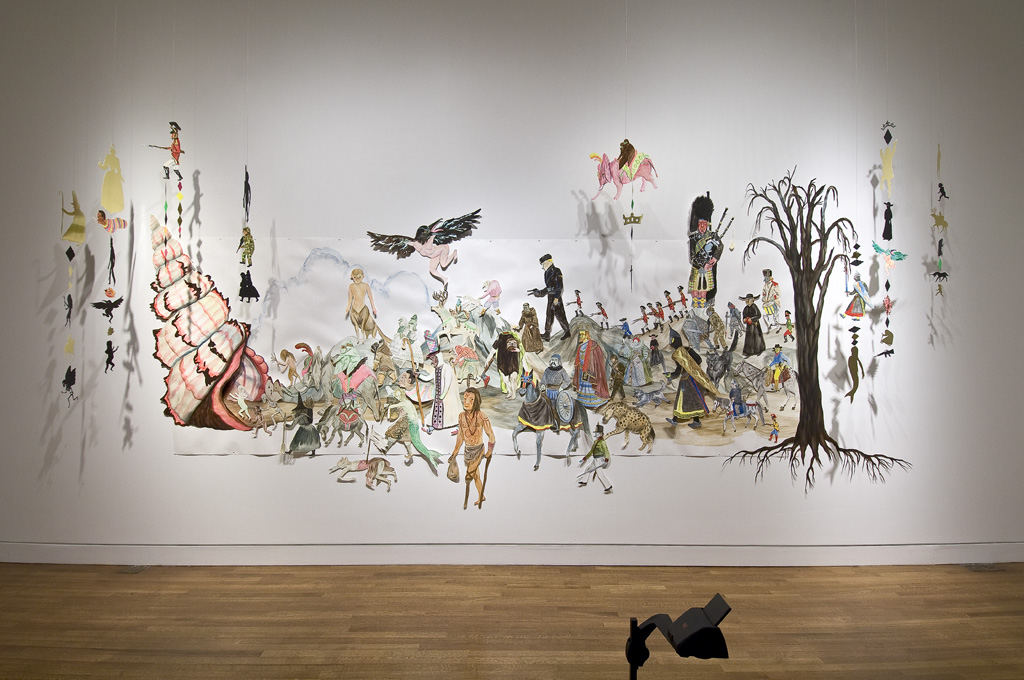 Shary Boyle, The Clearances and Skirmish at Bloody Point, 2007