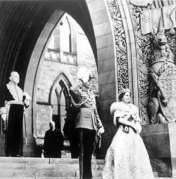 Roi George VI et la reine Elizabeth, le