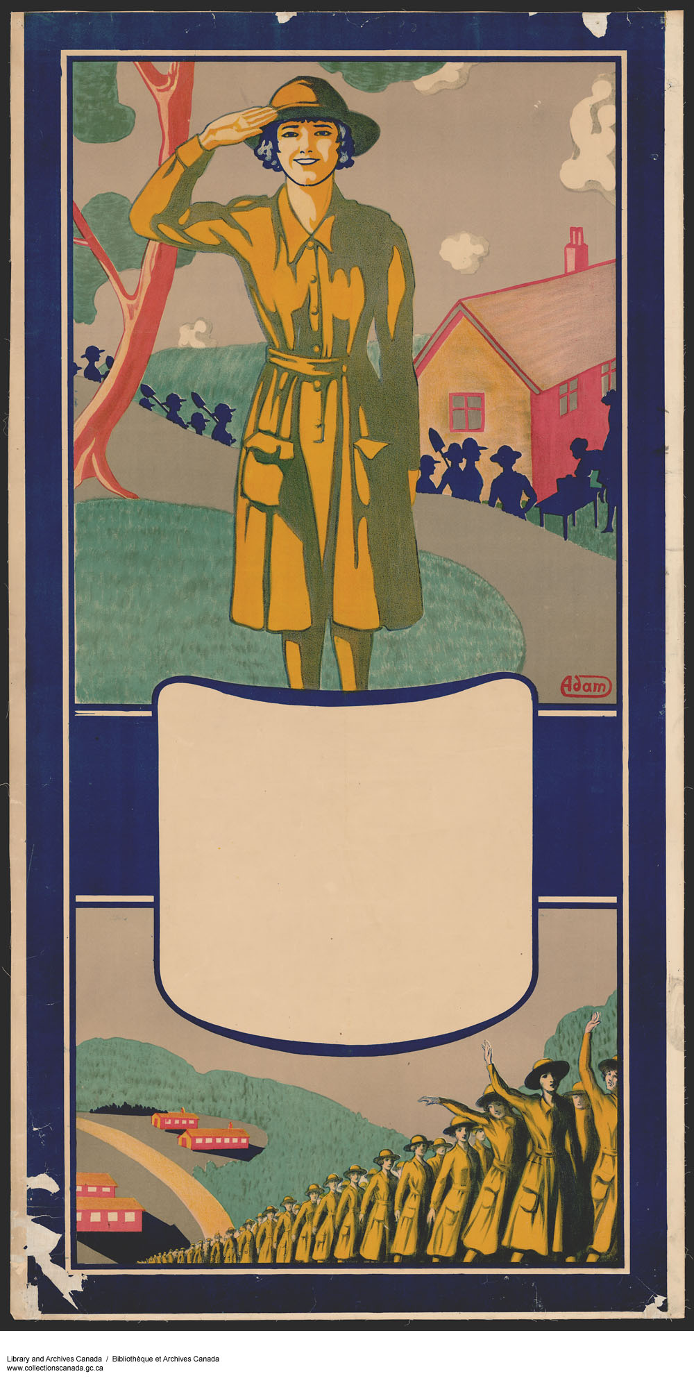 First World War Recruitment Poster for Women