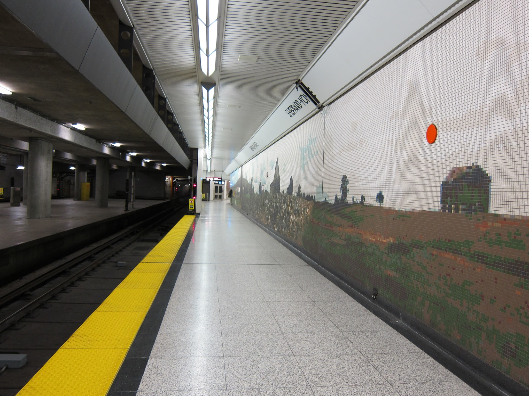 La mosaïque Sheppard-Yonge