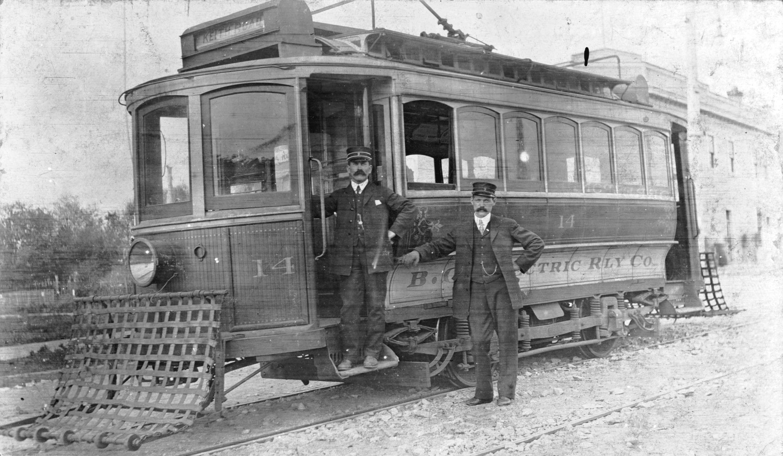 Premier Tramway de Vancouver-Nord, 1907