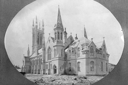 Metropolitan Methodist Church, Original Roofline