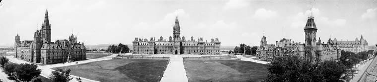 Panorama of the Parliament Buildings Ottawa, Ontario