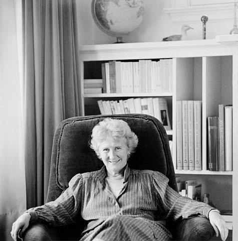 Antonine Maillet, 1984.