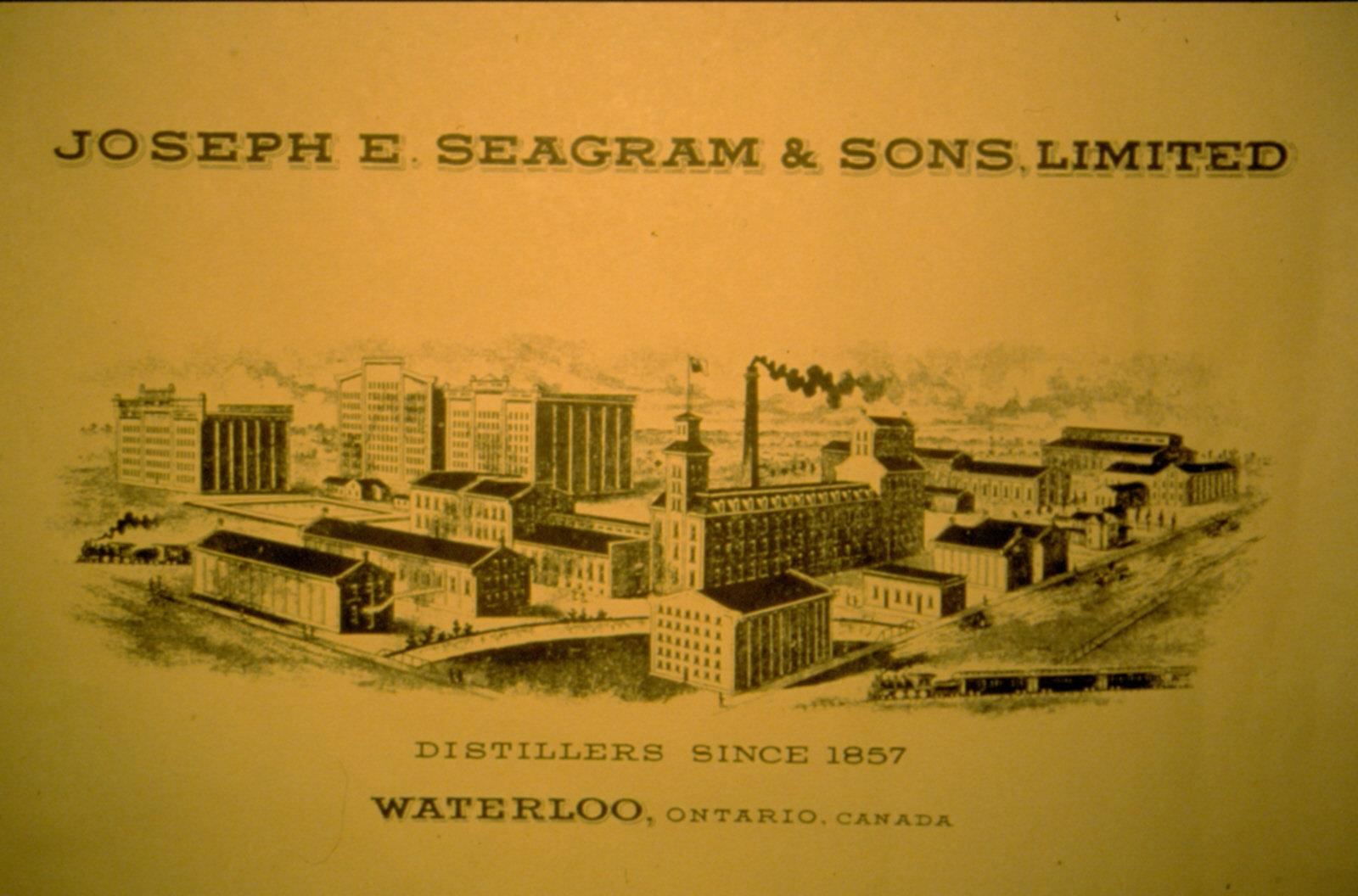 Publicité de Joseph E. Seagram and Sons Limited