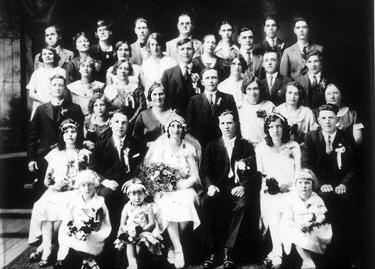 Mariage polonais dans les années 1930