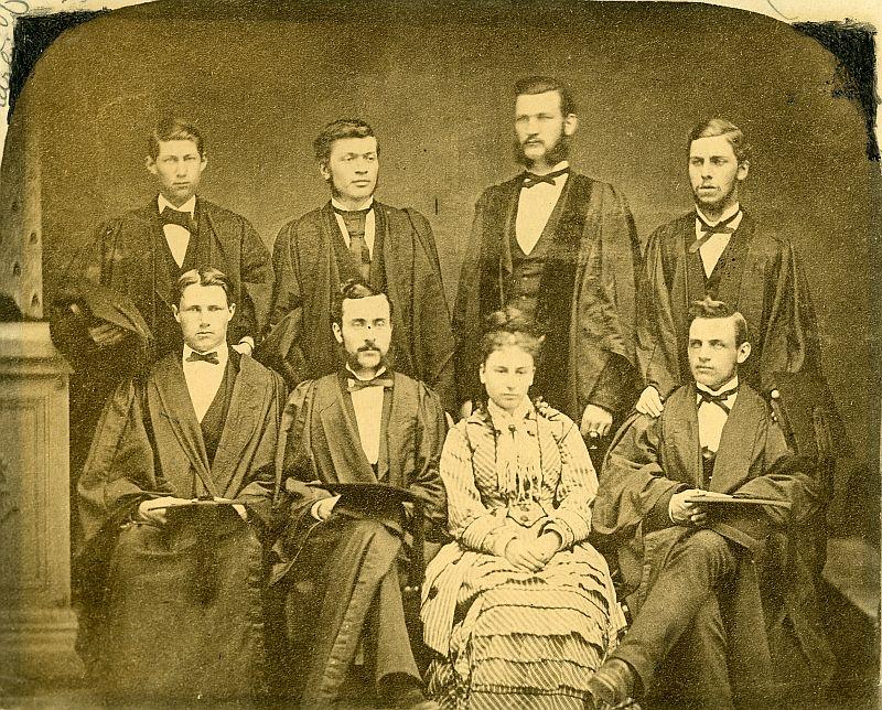 Mount Allison Wesleyan College, class of 1875.