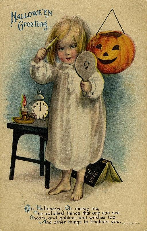 Halloween Greeting Card, 1900