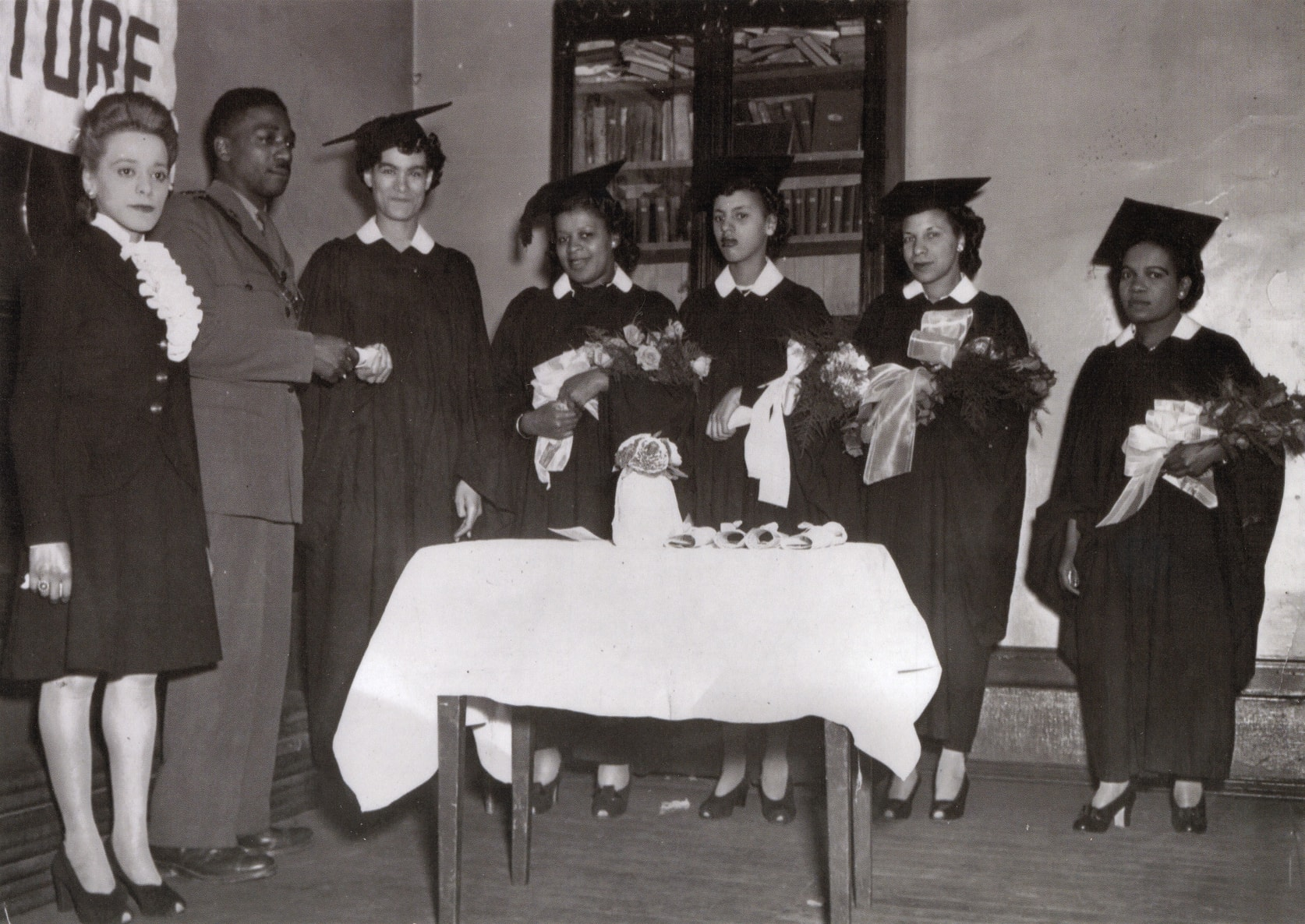 Viola Desmond with Graduates