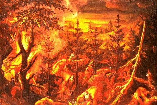 \u00ab Massacre of the Hurons \u00bb