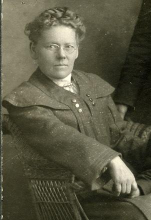 Margret Benedictsson, circa 1905